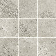 Quenos Light Grey Mosaic Matt Bs