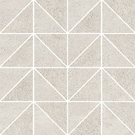 KEEP CALM GREY TRIANGLE MOSAIC MATT