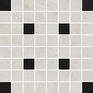 Light Marble Grey Mosaic Square