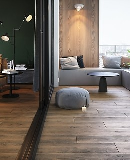 Parquet and wood-effect gres planks