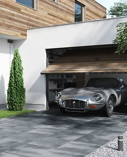 Perfect gres tiles for the garden and driveway – Beton 2.0 collection from Opoczno