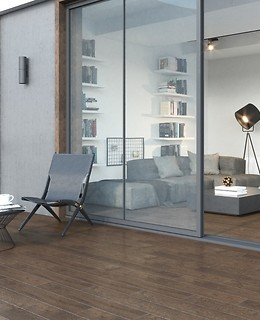 Ceramic tiles from Selected Oak collection from Opoczno are perfect to place also ...